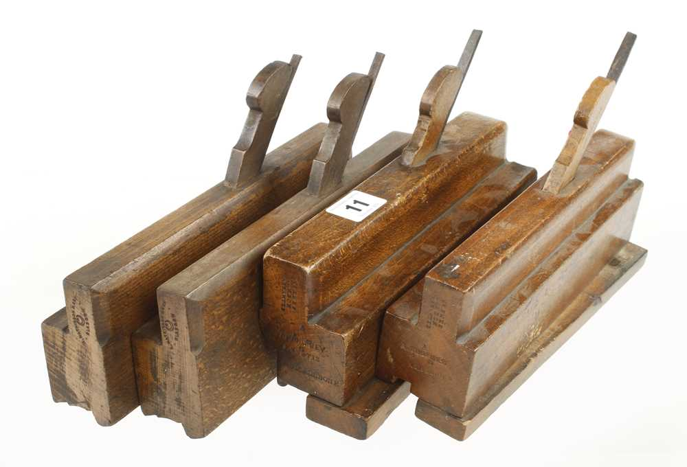 A pair of sash planes by MATHIESON and a pair of T & G planes by EMES G+ - Image 2 of 2