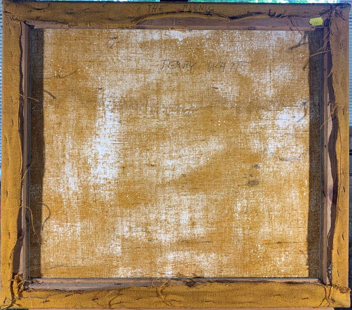 Lot 248 - Jerry WHITE (b.1952)The Picnic Oil on canvasSigned and inscribed as titled verso 56 x