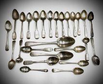 Silver spoons 17.5oz
