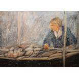 FISH SELLER by John Dunne