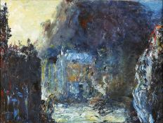 THE STREET PERFORMER by Jack B Yeats