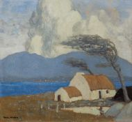 ACHILL COTTAGE, LOUGH CORRIB by Paul Henry