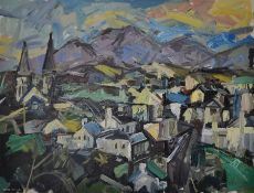 LOOKING BACK AT CLIFDEN by Colin Davidson