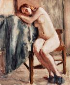 SEATED NUDE by Roderic O'Conor