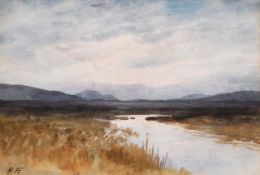 BOG LANDSCAPE by William Percy French