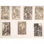 Albrecht Dürer (1471-1528), ensemble de 7 gravures issues de la Passion et de la [...]