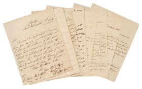 * Peninsular War. Group of autograph letters signed to Sir Charles Stuart, 1811-13