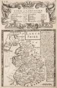 Bowen (E. & Owen J.). Britannia Depicta or Ogilby Improv'd..., 1724