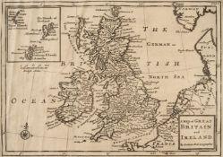 Cox (Thomas). Magna Britannia, volume I only, 1715