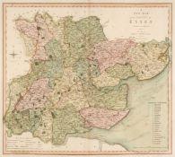 Smith (Charles). Smith's New English Atlas..., 1804