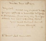 Nelson (Horatio, 1758-1805).