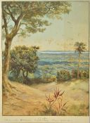 * South Seas. Norman Hayward Hardy (1842-1933), watercolour