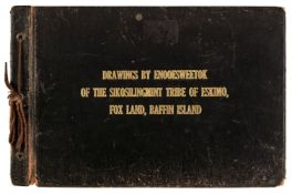 Canada. Drawings by Enooesweetok of the Sikosilingmint Tribe of Eskimo, 1st edition, 1915