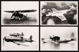* Aviation Photographs. A collection of 1350 black and white photographs