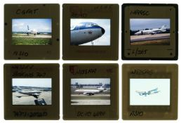 * Aviation Slides. Civil aircraft 35mm slides c.1970s (approx. 10,000)
