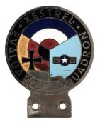 * Kestrel Evaluation Squadron Car Badge, circa 1950s/60s