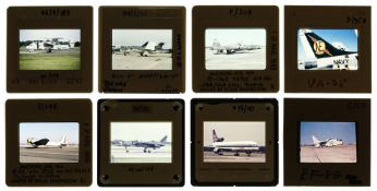 * Aviation Slides. A large and impressive collection of 35 mm colour slides