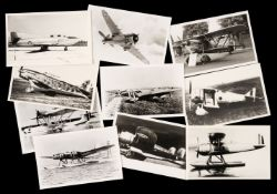 * Aviation Photographs. A mixed collection photographs