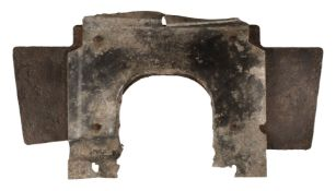 * Luftwaffe. An armoured plate from an Me110 shot down over Hitchin 1940