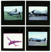 * Gibson (Michael L.). A large collection of aviation slides c.1950-70s