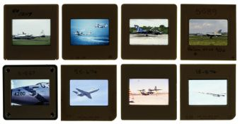 * Aviation Slides. A collection of approx. 5000 unsorted 35mm colour slides