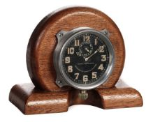 * Aircraft Clock. A WWI French aircraft clock