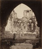* Attributed to Roger Fenton, 1819-1869. A suite of 12 views of Furness Abbey, c. 1860, albumen