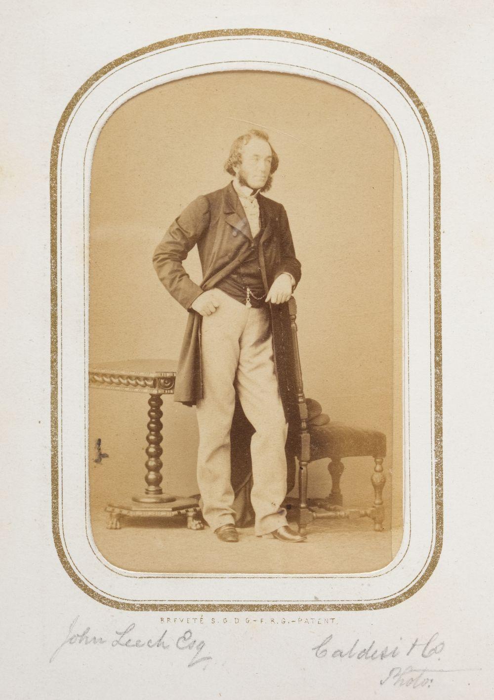 * Cartes de visite. A cartes-de-visite album, c. 1860s/1880s - Image 5 of 18