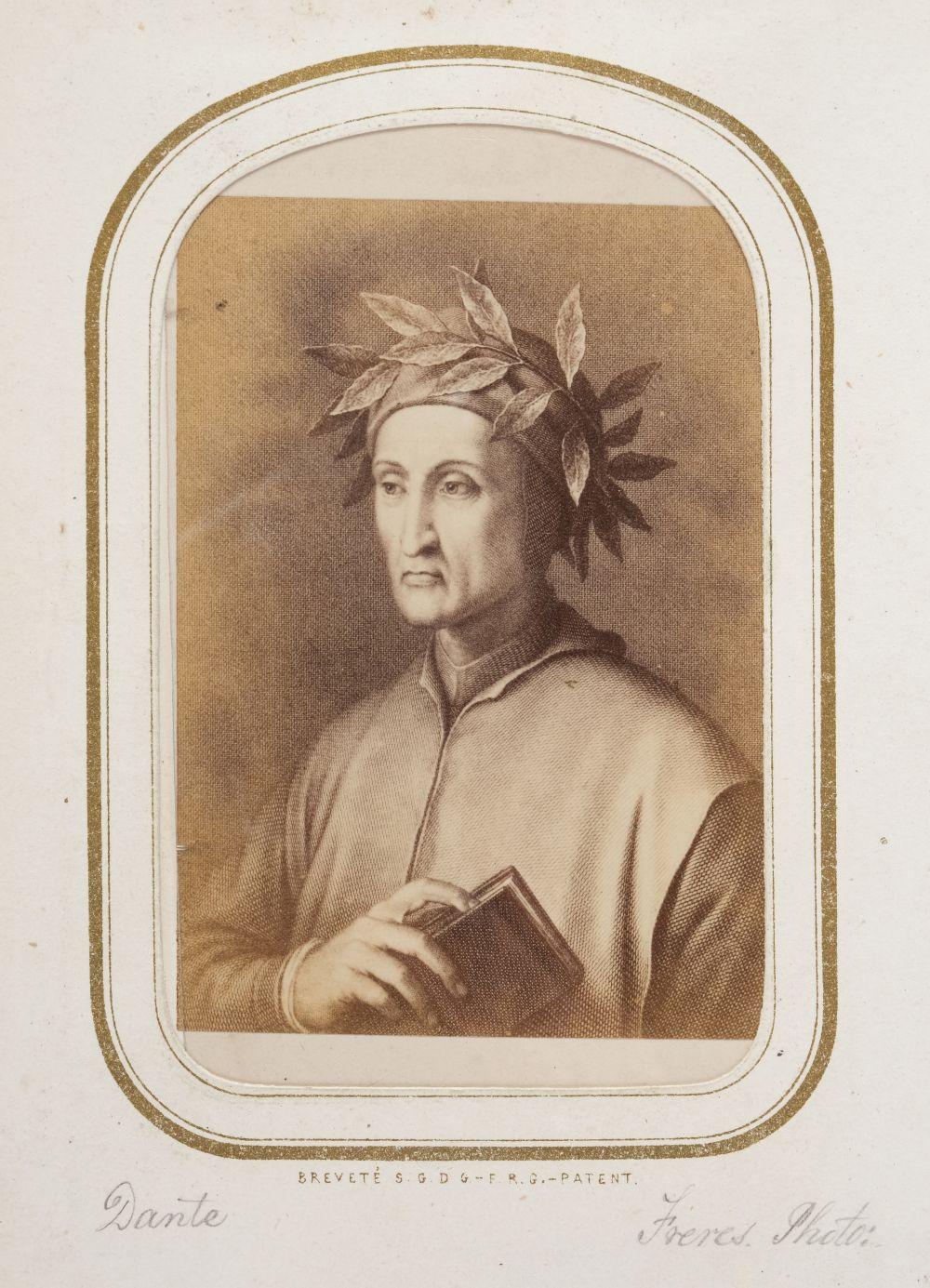 * Cartes de visite. A cartes-de-visite album, c. 1860s/1880s - Image 13 of 18