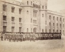 * Attributed to Roger Fenton (1816-1869). The Coldstream Guards outside the Tower of London
