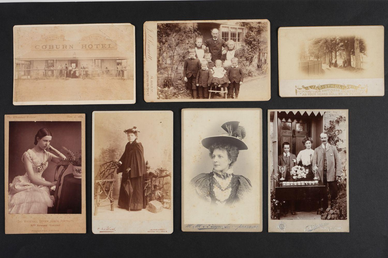 * Cartes de Visite. A collection of approx. 140 albumen print cartes de visite, 1860s and later - Image 10 of 21