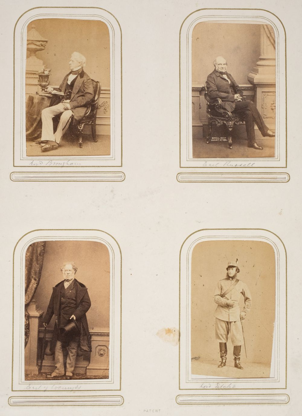 * Cartes de visite. A group of 3 albums of cartes de visite and cabinet cards - Image 4 of 26