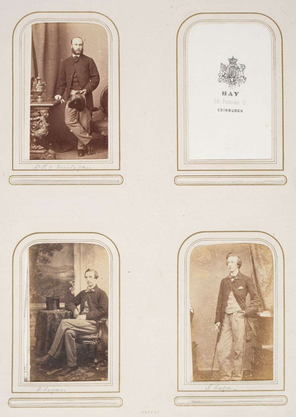 * Cartes de visite. A group of 3 albums of cartes de visite and cabinet cards - Image 7 of 26