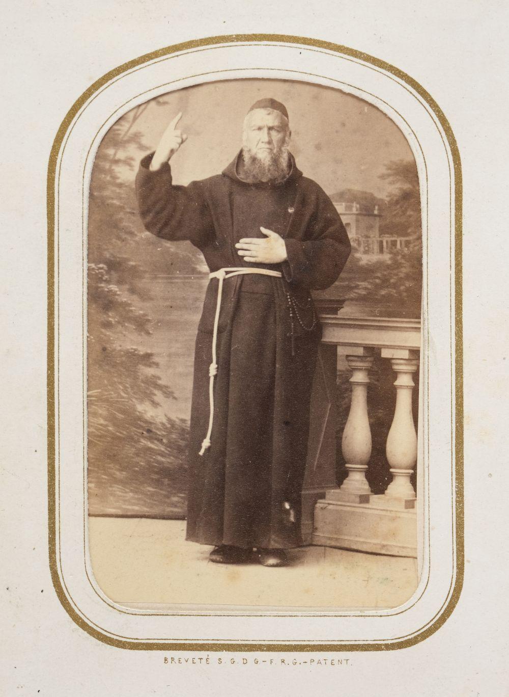 * Cartes de visite. A cartes-de-visite album, c. 1860s/1880s - Image 15 of 18