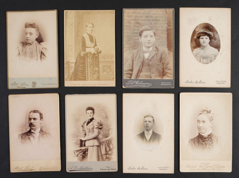 * Cartes de Visite. A collection of approx. 140 albumen print cartes de visite, 1860s and later - Image 5 of 21