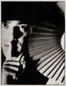 * Jarman (Derek, 1942-1994). Portrait by Alastair Phain (1961-), 1985, vintage bromide print