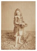 * Rejlander (Oscar Gustave, style of). Little matchgirl, c. 1860, albumen print