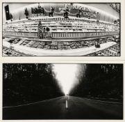 * Alinder (James, 1941-). A group of 6 vintage gelatin silver panoramic prints, c. 1975