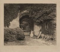 * Fenton (Roger, 1819-1869). Raglan Castle - Porch [from] Photographic Art Treasures, October 1856