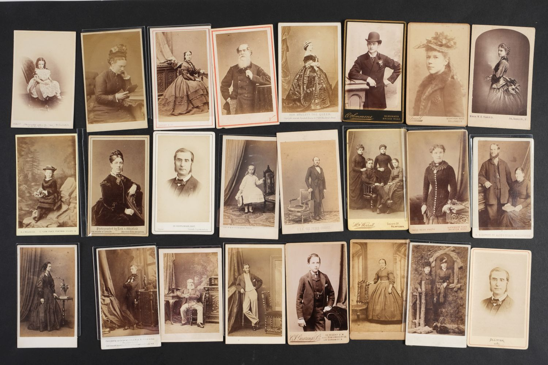 * Cartes de Visite. A collection of approx. 140 albumen print cartes de visite, 1860s and later - Image 21 of 21