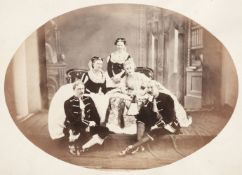 * Photograph albums. A group of 9 photograph albums, 19th & 20th century