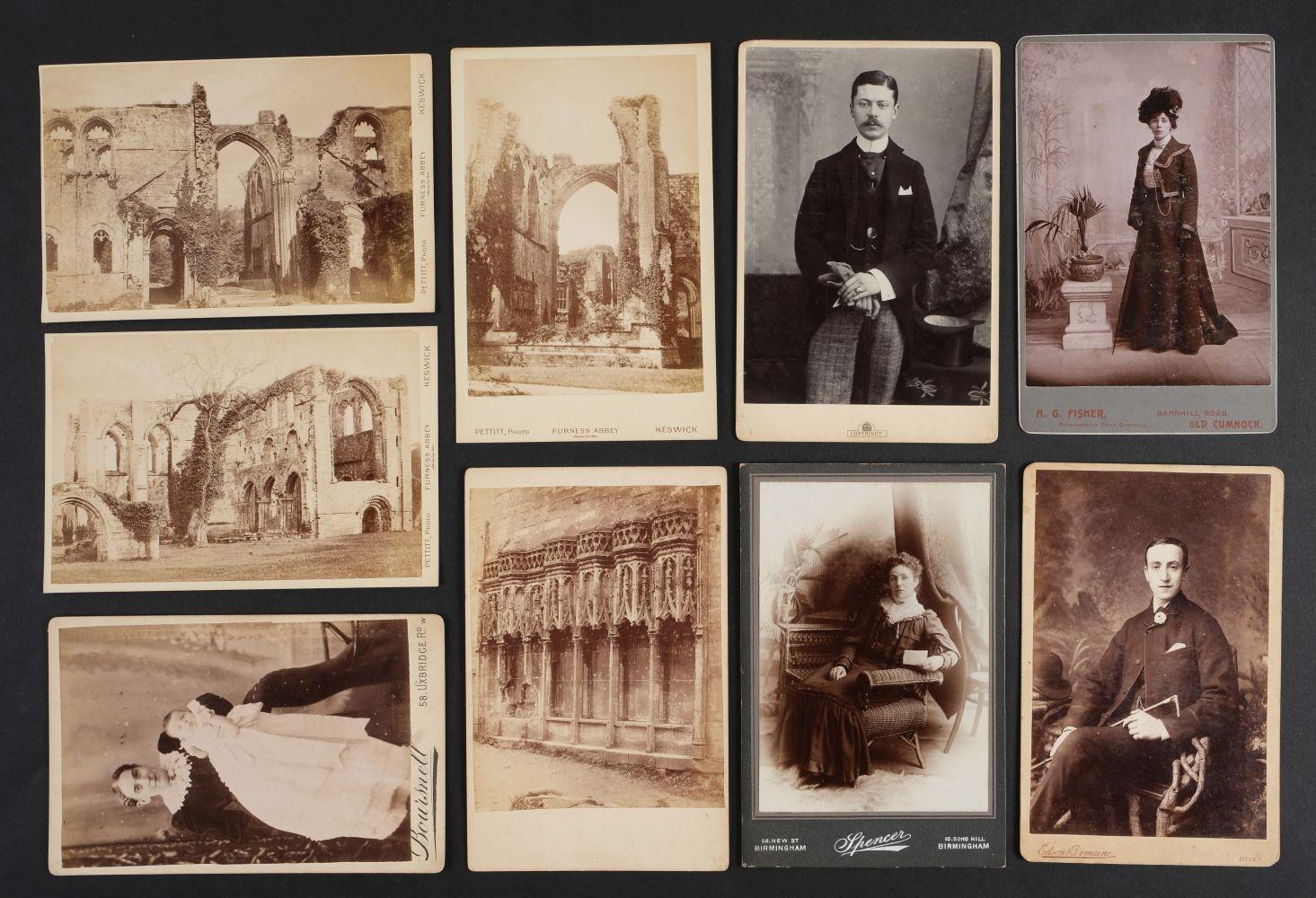 * Cartes de Visite. A collection of approx. 140 albumen print cartes de visite, 1860s and later - Image 6 of 21