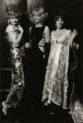 * Hurn (David, 1934-). Transvestites' Drag Ball, 1970, gelatin silver print