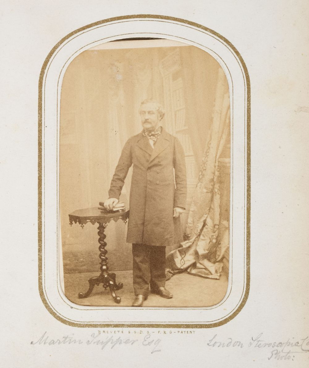 * Cartes de visite. A cartes-de-visite album, c. 1860s/1880s - Image 6 of 18