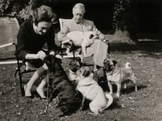 * Duke & Duchess of Windsor. Series of 6 gelatin silver print photographs by Michel Chapuis c. 1960s