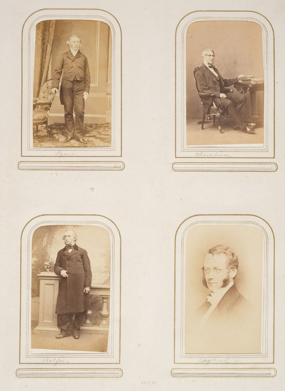 * Cartes de visite. A group of 3 albums of cartes de visite and cabinet cards - Image 8 of 26