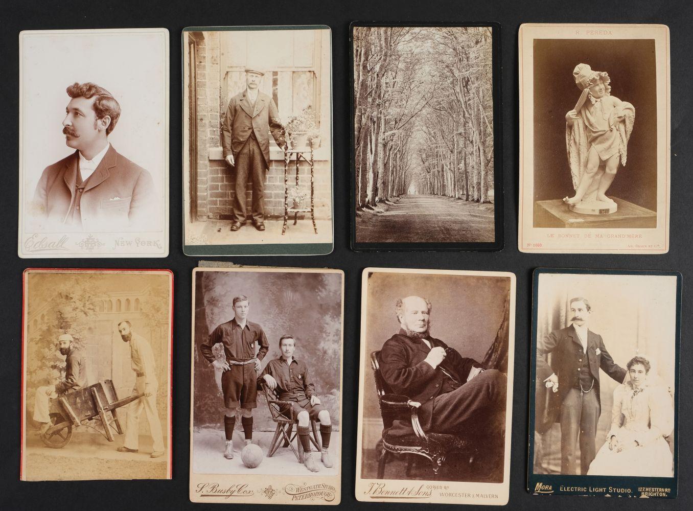 * Cartes de Visite. A collection of approx. 140 albumen print cartes de visite, 1860s and later - Image 9 of 21