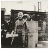 * Beckett (Samuel, 1906-1989). Portrait by Paul Joyce (1944-), 1979, a large celluloid interneg