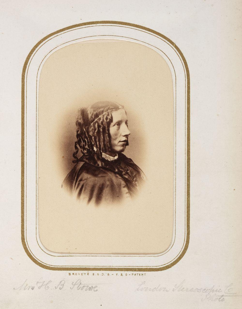 * Cartes de visite. A cartes-de-visite album, c. 1860s/1880s - Image 12 of 18