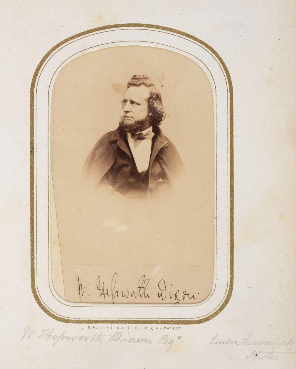 * Cartes de visite. A cartes-de-visite album, c. 1860s/1880s - Image 10 of 18